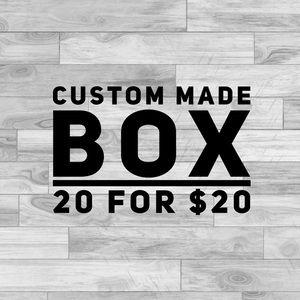 Other - 20 for $20 customized box